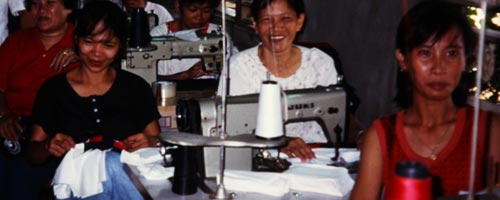 Women workers in the Philippines